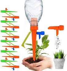 EROCK 12Pcs <b>Plant</b> Self <b>Watering</b> Spike <b>Adjustable Automatic</b> Drip