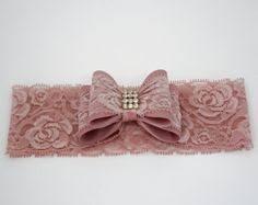 Double Bow Lace <b>Headband</b> - <b>11 Colors</b> Available | <b>HEADBAND</b> ...