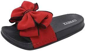 Minikoad <b>Sandals Women</b> Casual Slipper - Ladies <b>Bow Knot</b> Slipper ...
