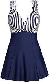 Swim Dress Women's One Piece Swimwear - Amazon.com