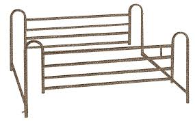 Drive Medical Full Length Hospital <b>Bed</b> Side Rails, <b>1 Pair</b> - Walmart ...