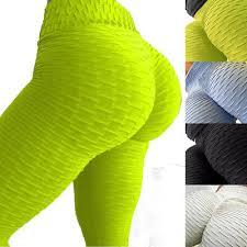 <b>Womens High Waist</b> Butt Lift <b>Yoga</b> Fitness Leggings Sports Pants ...