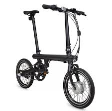 <b>Электровелосипед Xiaomi MiJia QiCycle</b> Black Global купить в ...