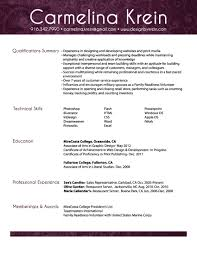 resume design by krein web design graphic design a pdf copy of my resume here