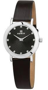 <b>НИКА 0102.0.9.56B Женские</b> Серебряные <b>часы</b>