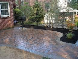 paver stones driveway patio