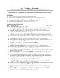 best project manager resume best photos of excellent project resume samples for project managers