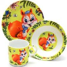 Отзывы о <b>Набор детской посуды Loraine</b> LR-24025