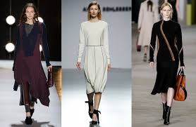 5 строгих платьев из коллекций осень-зима 2016 | Global Blue