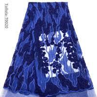 Wholesale <b>Royal Blue French</b> Net <b>Lace</b> Fabric - Buy Cheap Royal ...