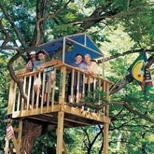 Tree house plans  Backyard trees and Tree houses on Pinterest