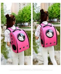 2019 DHL <b>Breathable</b> Pet Carriers <b>Astronaut Capsule</b> Pet Backpack ...