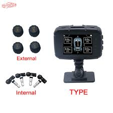 FUNNY AUTO LK990 <b>Smart Car TPMS Tyre</b> Pressure Monitoring ...