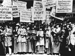 「1904, demonstration in new york for women, later years IWD; International Women's Day」の画像検索結果
