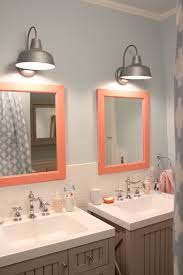 framed bathroom mirror lowes with proper furnishing create captivating bathroom lighting ideas