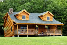 Coventry Log Homes   Our Log Home Designs   Tradesman SeriesThe Clearwater