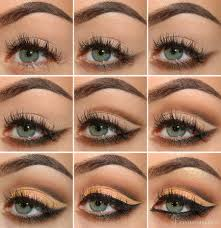 eyes middot mellow brown cut crease eye makeup tutorial
