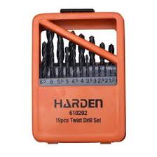 <b>Набор сверл HARDEN</b> 610292, по металлу, HSS, 19 шт., 1-10 мм ...