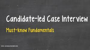 candidate led case interview consulting prep candidate led case interview consulting prep