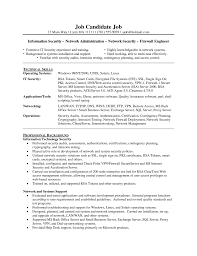 exchange server resume cipanewsletter network security administrator sample resume esthetician cover