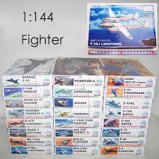 <b>1</b>: <b>144 Fighter Military</b> Plastic Assembly Aircraft Model 25 Kinds to ...