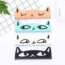 Detail Feedback Questions about <b>1 Piece</b> New Cat Straight Ruler ...
