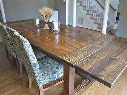 How To Build A Dining Room Table Diy Dining Room Table Inspiration Home Interior Design