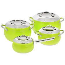"""<b>Набор посуды Esprado</b> """"Ritade"""", цвет: зеленый, 8 предметов ..."""