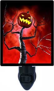 <b>Halloween</b> Night Light, <b>Pumpkin Tree</b> LED Night Light - - Amazon.com