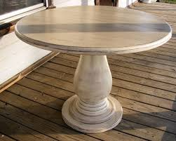 kitchen pedestal dining table set:  inch round pedestal table huge solid wood by thewoodworkman
