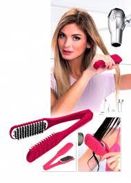 Расческа для выпрямления волос феном «ШЕЛКОВЫЕ ПРЯДИ ...