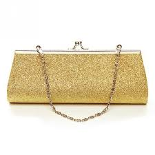 Fashion Women Glitter Gold <b>Silver</b> Colors <b>Clutch Purse Evening</b> ...