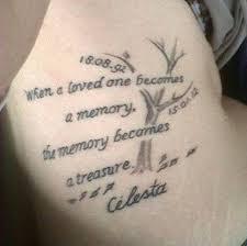 50 Coolest Memorial Tattoos via Relatably.com