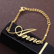 <b>Fashion</b> Personalized Custom Name Bracelets For <b>Women Girls</b> ...