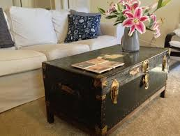 room vintage chest coffee table: lovable vintage trunk coffee table steamer trunk coffee table diy myfurnituredepo