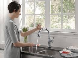 Delta Touch Kitchen Faucet Delta Touch Kitchen Faucet Best Kitchen Ideas 2017