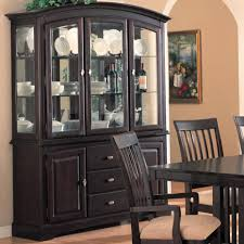 Dining Room Hutch Furniture Dining Room Hutch With Glass Doors A 2016 Dining Room Design And Ideas
