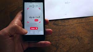 watch me do your math homework in minute an app