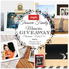 Mpix Treasure Family Memories Giveaway! ($50 Gift Card) Ends 8 ...