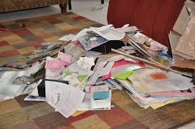 Mound of paper