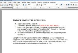 cover letter in the email email cover letter sample for job application