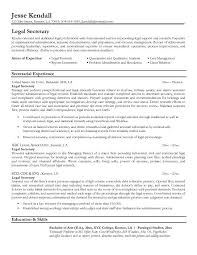 category legal resume format