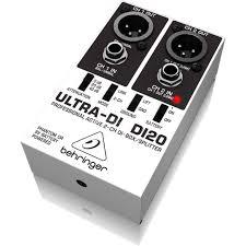 <b>Behringer</b> DI 20, <b>Ultra</b>-<b>DI</b> DI-<b>Box</b> | MUSIC STORE professional | ru-RU