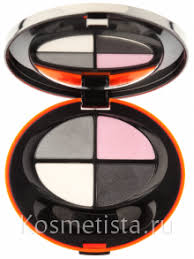<b>Четырехцветные тени</b> для век <b>Eva Mosaic</b> | Отзывы покупателей