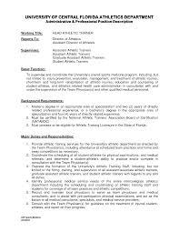 sample resume college athlete cipanewsletter travel trainer resume s trainer lewesmr