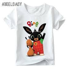 Children <b>Cartoon Bing</b> Rabbit/Bunny Funny T shirt Baby Boys/Girls ...