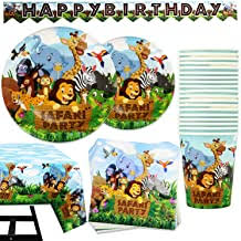 Safari Animal Party Supplies - Amazon.com