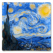 <b>Тарелка квадратная Звездная ночь</b>, 13х13 см от Carmani (арт ...