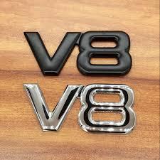 Металлические 3d наклейки <b>V8 для</b> автомобилей, 1 шт ...