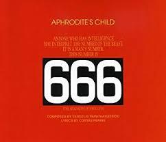 <b>APHRODITE's CHILD</b> - <b>666</b>: The Apocalypse of St John - Amazon ...